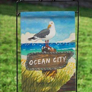 Ocean City Garden Flag